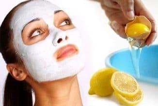 яично-белковая маска для лица