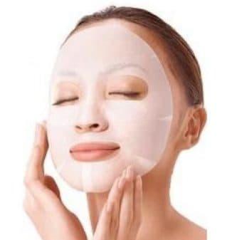 маска для лица от пращей и не только из кефира