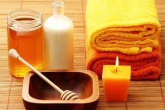 обертывание с горчицей медом и сахаром у себя дома или в салоне