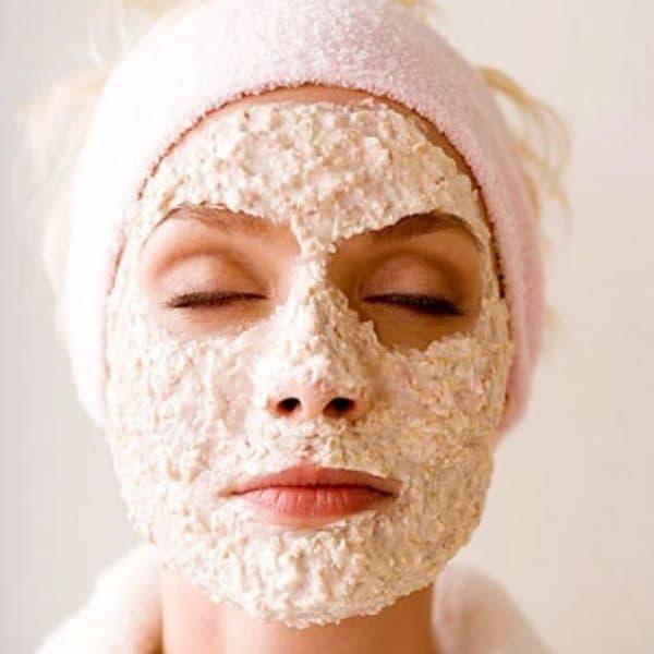 аспириновая маска для лица с овсянкой
