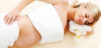 массаж беременным полезен, но не всех частей тела