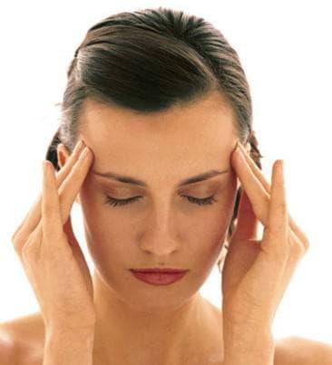 Массаж головы при головных болях