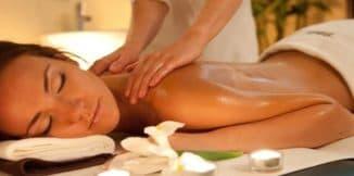 как делать расслабляющий массаж спины в домашних условиях