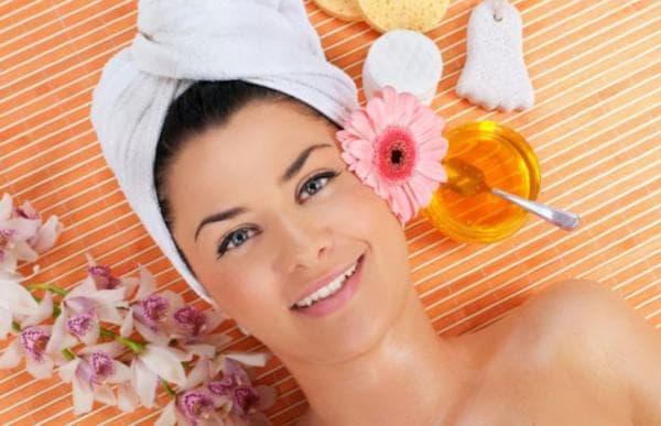 чистка лица мёдом в домашних условиях