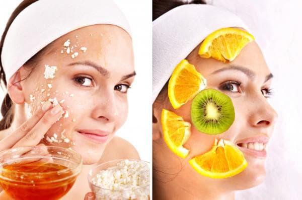 овсяная омолаживающие маски с цедрой лимона