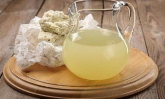 классический рецепт — молочная сыворотка