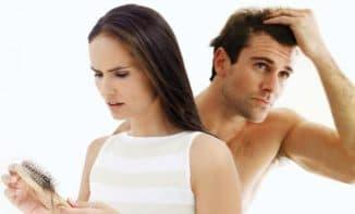 мужские и женские волосы