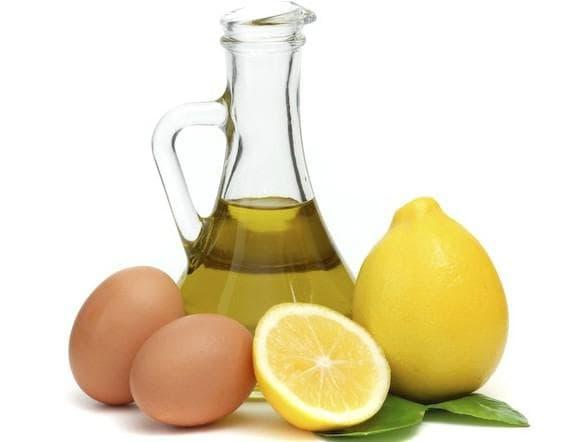 масло яйцо и лимон для волос