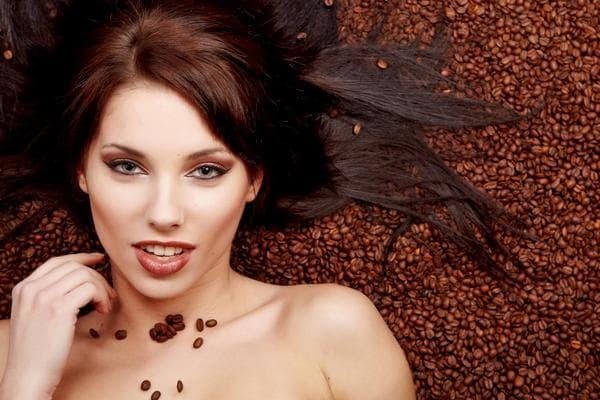 молотый кофе для волос
