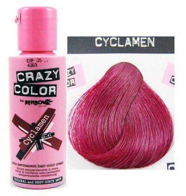 crazy color краска для волос Cyclamen