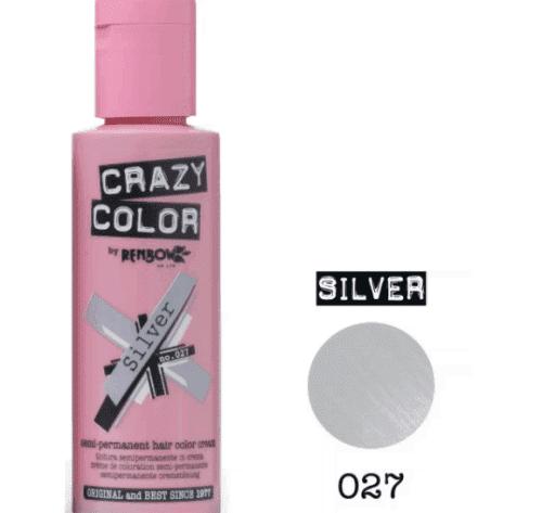 crazy color краска для волос Silver