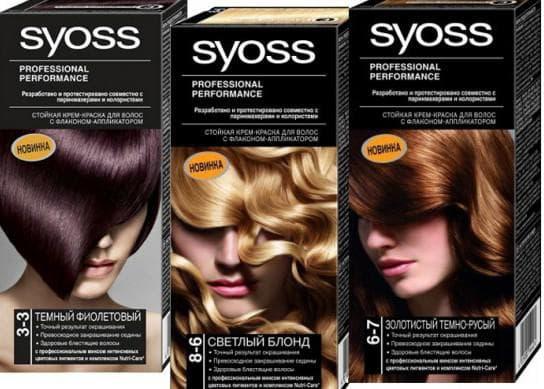 краска для волос Syoss Professional Performance