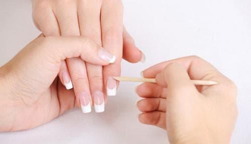 наращивания ногтей гелем Апельсиновые палочки
