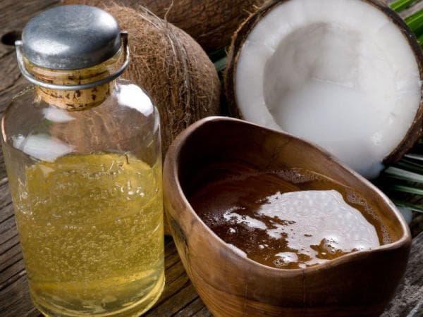 масло кокоса и масло арганы