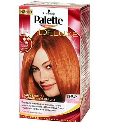 краска для волос Palette Deluxe