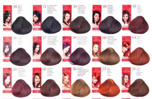 краска для волос estel DeLuxe Для темных локонов