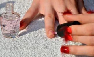 почему пузырится лак на ногтях после сушки