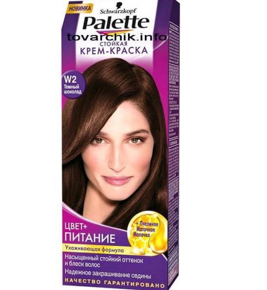 краска для волос шоколадные оттенки Palette
