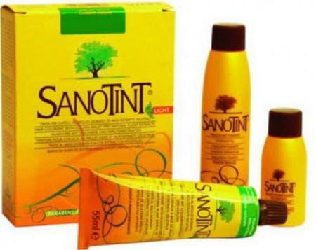 краска для волос беременных SanoTinT