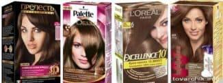 краска для волос шоколадные оттенки