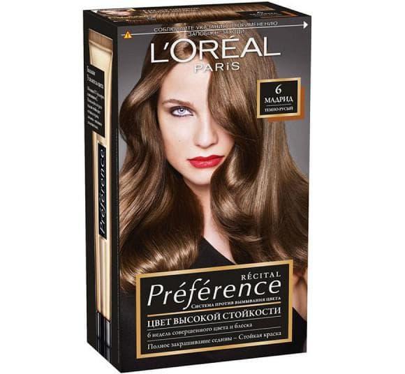 краска для волос лореаль преферанс мадрид