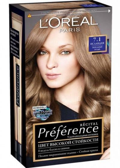 краска для волос лореаль преферанс исландии