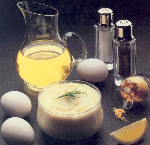 желатин, кефир и уксус