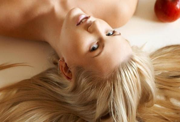 Маска для волос с желатином ламинирование