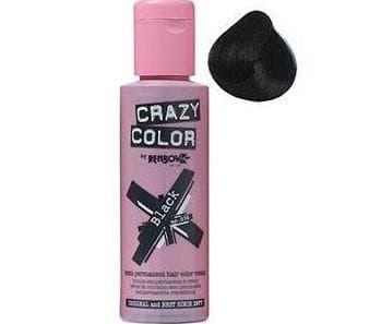 crazy color краска для волос Natural Black