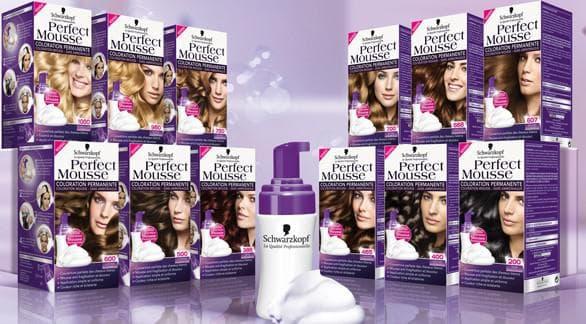 шварцкопф краска для волос Perfect Mousse
