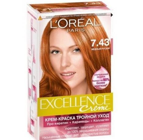 не профессиональная краска для волос L'Oreal Excellence Creme