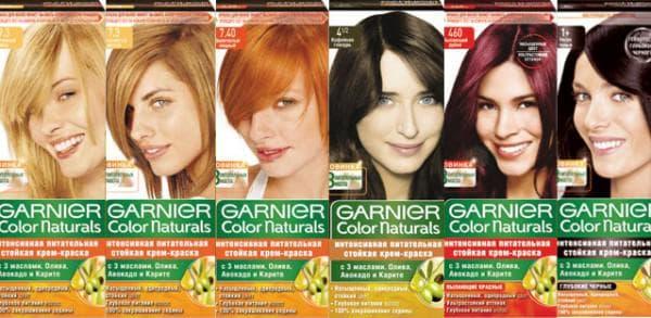 не профессиональная краска для волос Garnier Color Naturals