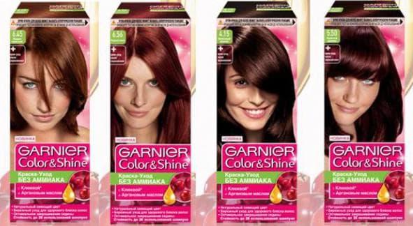 профессиональная краска для волос Garnier