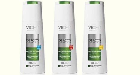 лечебные шампуни от выпадения волос vichy dercos
