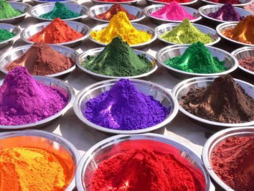 красящие пигментные вещества