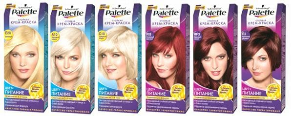 палетт краска для волос