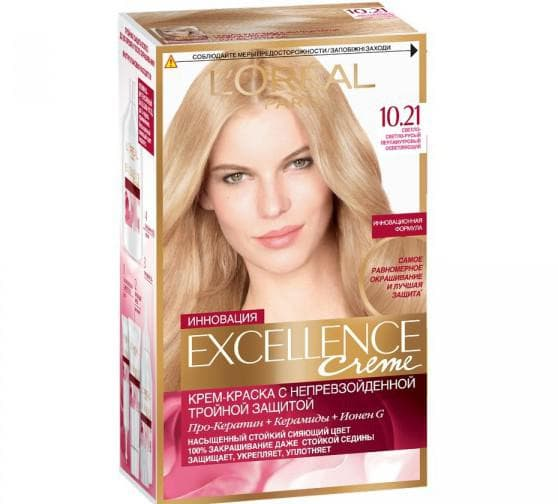 краска для волос лореаль Excellence creme