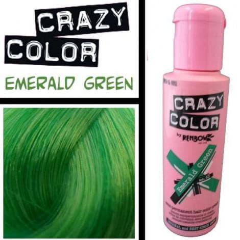 crazy color краска для волос Emerald Green