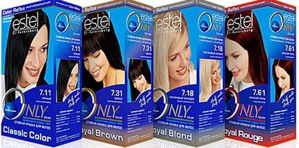 профессиональная краска для волос Онли