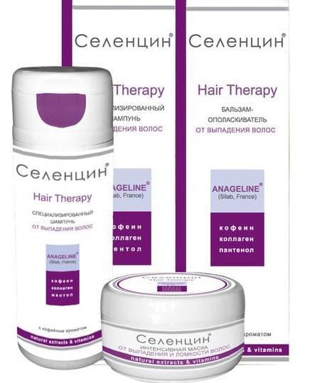 лечебные шампуни от выпадения волос Дегтярный шампунь Селенцин
