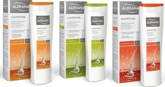 лечебные шампуни от выпадения волос Алерана от Вертекса
