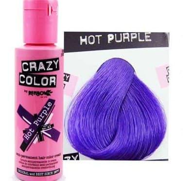 crazy color краска для волос Hot Purple