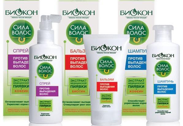 лечебные шампуни от выпадения волос Шампунь от Биокон