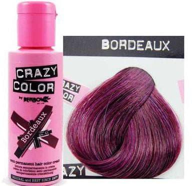 crazy color краска для волос Bordeaux