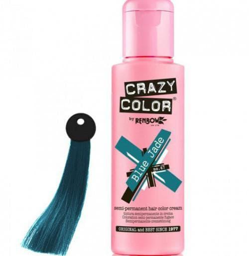 crazy color краска для волос Blue Jade