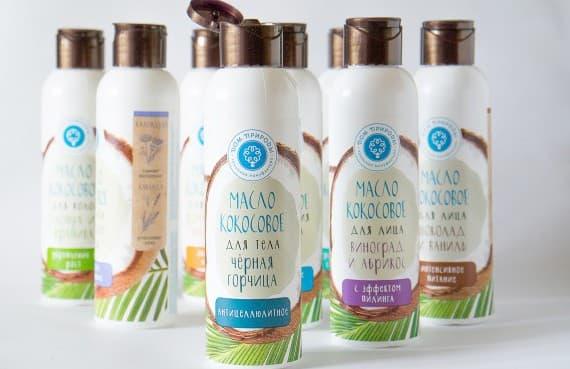 специальное кокосовое масло для волос
