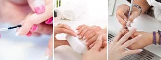 процедура наращивание ногтей