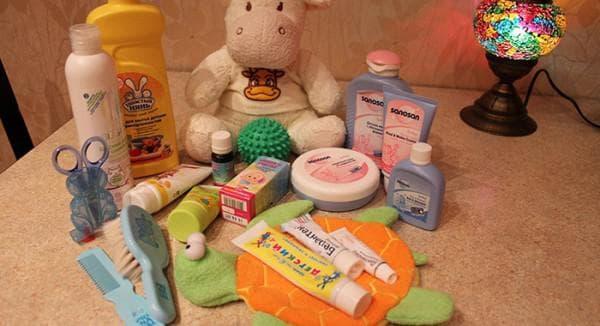 Детская косметика для новорожденных: список