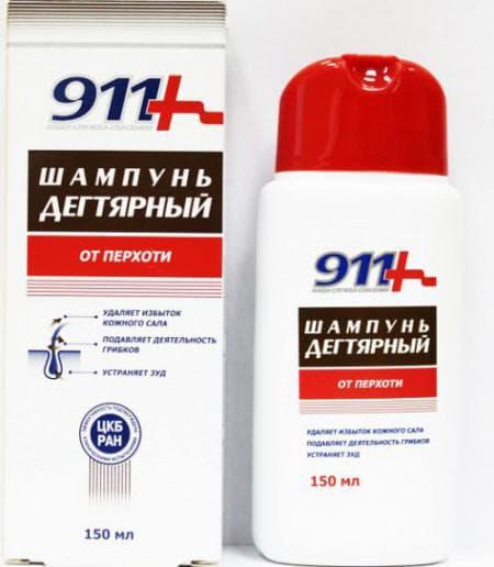 дегтярный шампунь 911