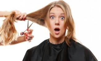как подстричь кончики волос подруге